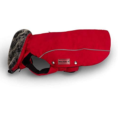 Wolters 54721 Hunde-Wintermantel Amundsen Gr. 36 rot für Dackel