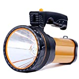 Linterna LED Recargable, 6000 Lúmenes 6000mAh Linternas Alta Potencia Súper Brillante Farol de Cámpi...