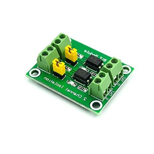 PC817 Placa de aislamiento optoacoplador de 2/4 vías, módulo adaptador de convertidor de voltaje para placa base inversor de corriente para placa base