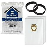 Kirby G10 G10E G10SE Sacchetti HEPA originale per aspirapolvere-Cinghia di trasmissione, confezione da 12 pezzi), 1 cintura