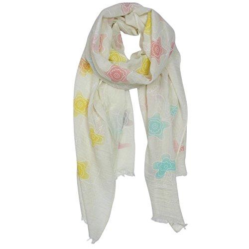 Glamexx24 Loop sjaal met bolletjes en strepen ontwerpen voor elke dag
