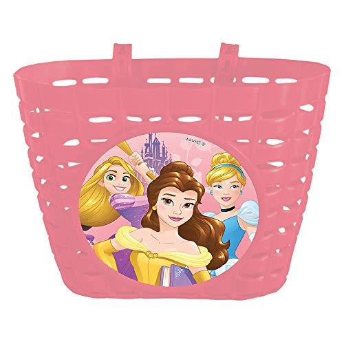 Disney Mädchen Princess Fahrradkorb, Mehrfarbig, 20x14x14 cm
