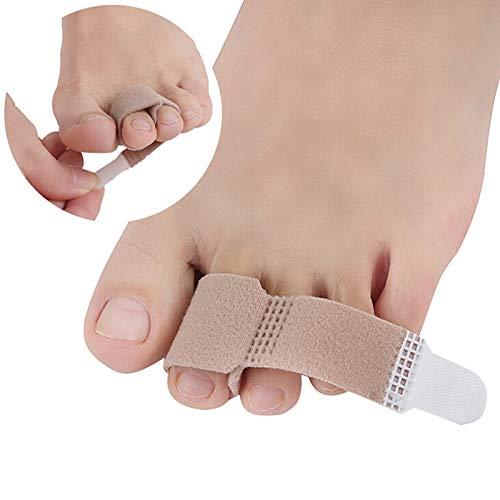 Belt 10 PCS Toe Finger Straightener Hammer Toe Hook and Loop Fastener Corrector Bandage Toe Separator Splint beauty tools Shoulder Support Bandage Lumbar