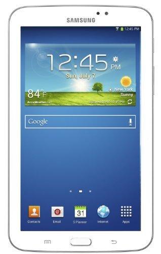 Samsung Galaxy Tab 3 (7-Inch, White) 2013 Model SM-T210 8 GB by Samsung