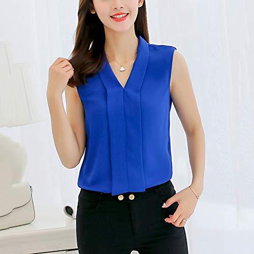 NSSYL dames-tops, blouses en overhemden, slimfit, trui met V-hals