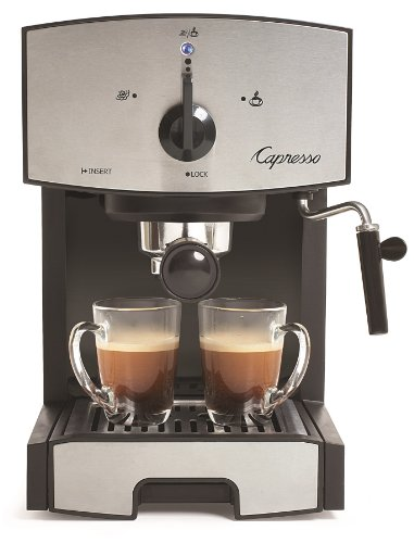 Capresso 117.05 Stainless Steel Pump Espresso and...