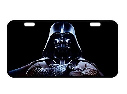 Star Wars Placa de Metal para matrícula, diseño Personalizado para Coche