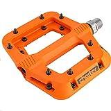 CHESTER Composite Pedal Mountain Bike Pedals (Orange)