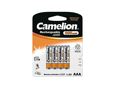 4 x Akku Batterie 1 x 4er Blister Camelion AAA 900mAh kompatibel mit Festnetz Telefon Siemens Gigaset SX550i , S67H , SX810 ISDN , A220 , AS285 , A510 Duo , S810 ,455X , CX610 ISDN , S79H C300 , A285 , S810H , A420 , C100 , SX440 ISDN , SX810 A , E500A , SX445 ISDN , C150 , A600 , 450X , C385 Duo , C610H , C595 , C610 , C300A Duo , C59H , A400 , C590