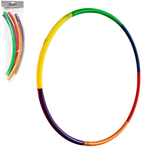 Cheapest Price! Coast Athletic 30 Inch Snap Together Hoop | Kids Exercise Hoops | Childrens Play Hoo...