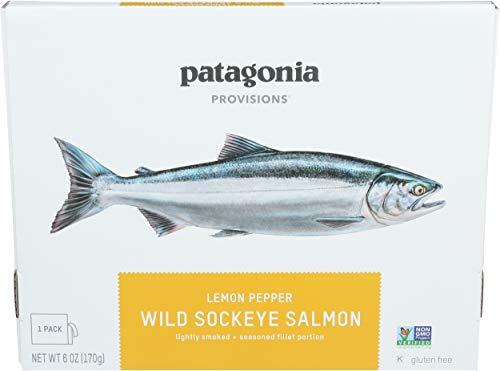 PATAGONIA PROVISIONS Lemon Pepper Wild Sockeye Salmon, 6 OZ