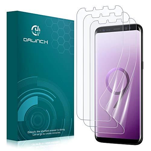 Dalinch Galaxy S9 Schutzfolie (3Stück), [Keine Blasen] TPU Folie,[Nicht Glas] [Nicht S9 Plus Folie] für Samsung Galaxy S9