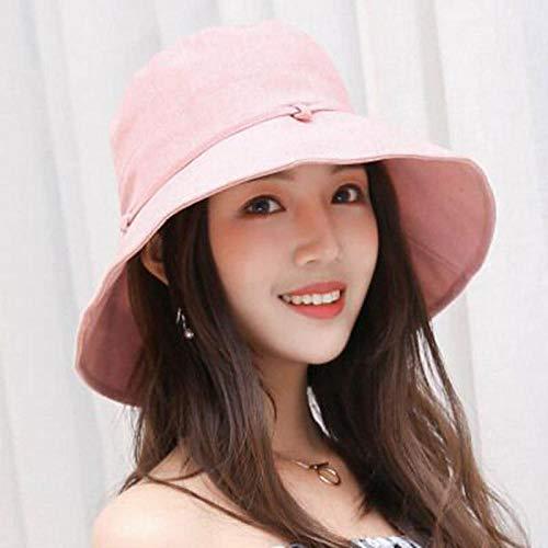 Sun Hat Straw Hat Cotton Beach Bow Hats Women Hat Lady Bucket Hat Hat Woman Panama Sun Cap -2_56-58Cm