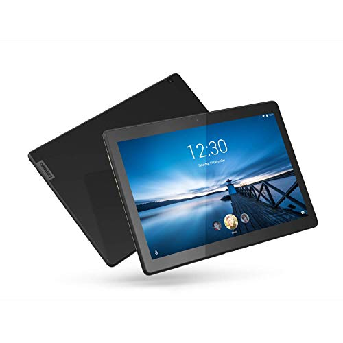 """Lenovo Smart Tab M10 10.1"""" Android Tablet, Alexa-Enabled Smart Device with Smart Dock Featuring 2 Dolby Atmos Speakers - 16GB Storage with Alexa Enabled Charging Dock Included"""