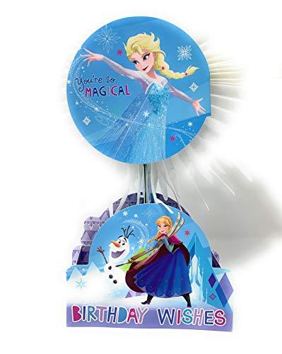 25525509 Geburtstagskarte zum Geburtstag Disney Elsa & Anna Die Eiskönigin 3D-Paperwow Grußkarte