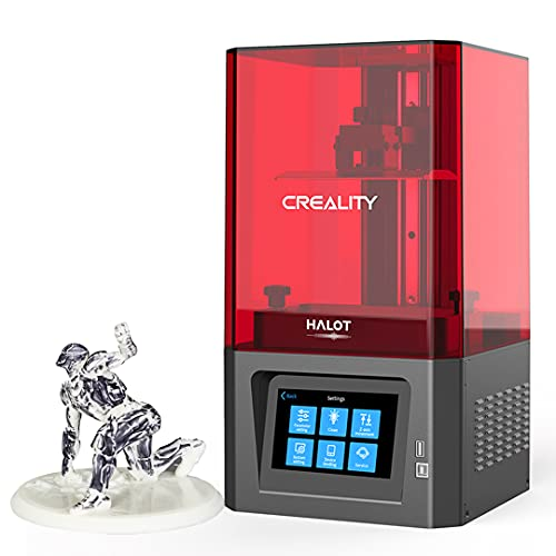 Creality HALOT-ONE Resin 3D Printer with High Precise Integral Light Source, CL-60 SLA 3D Printer with 2K Mono LCD Screen WiFi Function Dual Cooling & Filtering Systems Print Size 127x80x160mm