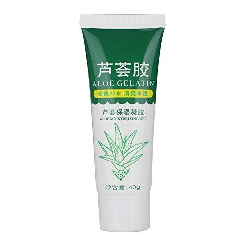 Máscara de gel de aloe vera natural,After-sun Repairing Crema Facial Hidratante para el Cuidado de la Piel