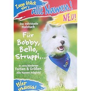 Halstuch rot grün blau rosa lila dunkelblau hellblau blau kariert für Hunde mit Namen Personalisiertes karierte…