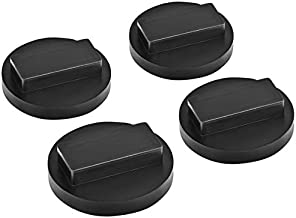 DEDC 4 Pack Jack Pad Universal for BMW and Mini Slotted Rubber Jack Pad Frame Rail Protector Jack Block