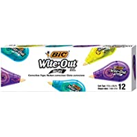 2 X 12-Count BIC Wite-Out Brand Mini Correction Tape