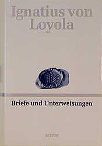 Deutsche Werkausgabe: Briefe und Unterweisungen: BD I