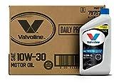 Valvoline (VV129-6PK) SAE 10W-30 Premium Conventional Motor Oil - 1 Quart Bottle,