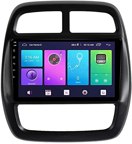 YXYY Navegación GPS, GPS estéreo para automóvil Android para Renault Kwid 2015-2016 SWC 4G WiFi BT Sistema de Unidad Superior USB Espejo Carplay Integrado