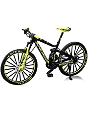 TOSSPER 1 st finger mountainbike mini 1:10 legering cykelmodell formgjuten racing leksak böj vägsimulering leksaker för barn