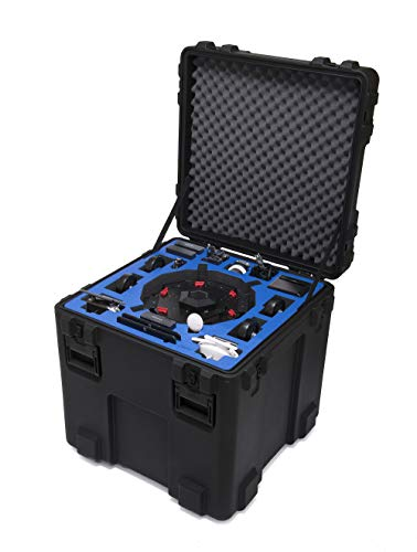 Go Professional Cases Hard Case for DJI Matrice 600 Pro with Ronin-MX Attached
