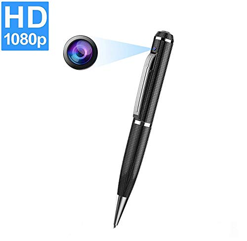 CHUHE Camera Pen Full 1080P Body Camera Mini Portable Hidden Camera -Support Max 32G SD Card