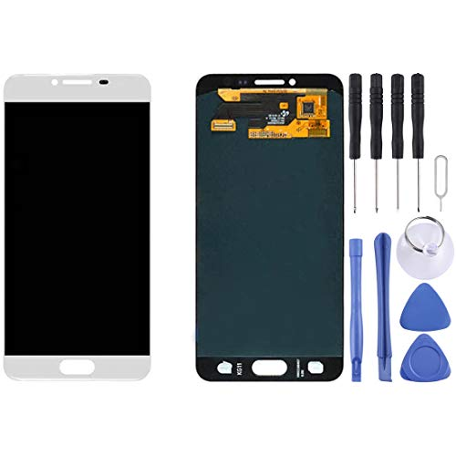 CAPOOK -LCD Display + Touch Panel for Galaxy C5 / C5000(Black) DIY (Color : White)