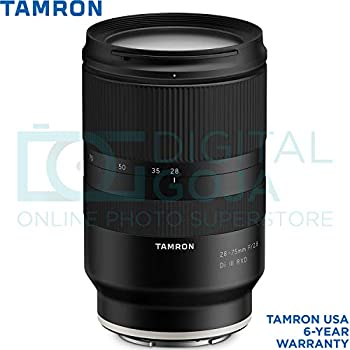 Tamron 28-75mm f/2.8 Di III RXD Lens for Sony E Mount Cameras with Altura Photo Advanced Accessory and Travel Bundle