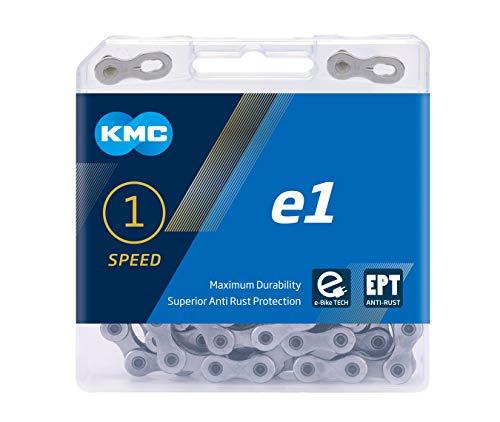 KMC Unisex– Erwachsene e1 EPT E-Bike 1-Fach Kette 1/2