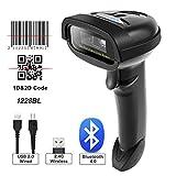 NT-1228BL Bluetooth QR 2D Barcode Scanner Handheld USB kabelloser 1D