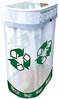 Recycle Flings Pop-Up Trash Bin