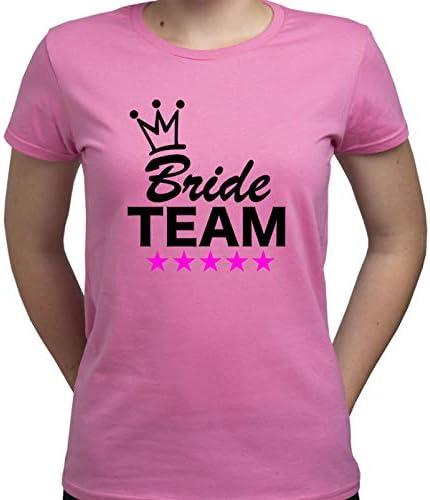 Bride Team Camiseta para Mujer