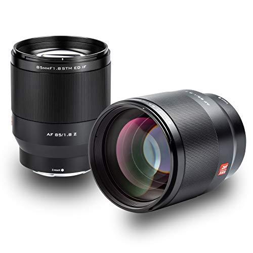 VILTROX AF 85mm F1.8 STM Vollformat Autofokus Prime Objektiv Portrait für Nikon Z Mount Kameras