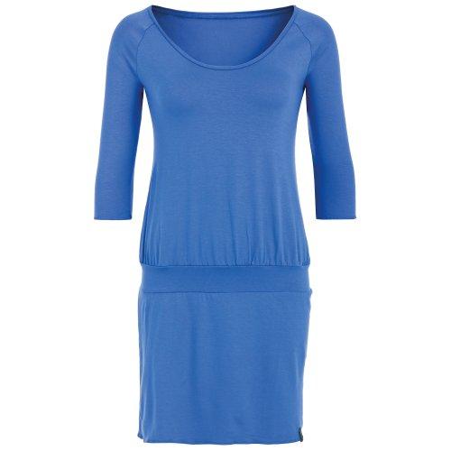 hut & berg balance Yoga Damenkleid-Tunika blau, ALL DAY TUNIKA Farbe: Blau   Größe: L