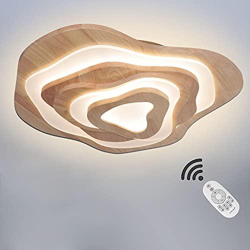 LED Lámpara De Techo Moderna Plafon Techo De Led 50W Redondo Para Techo 4500LM, Para Habitacion Cocina Sala De Estar Dormitorio Pasillo Comedor Balcón