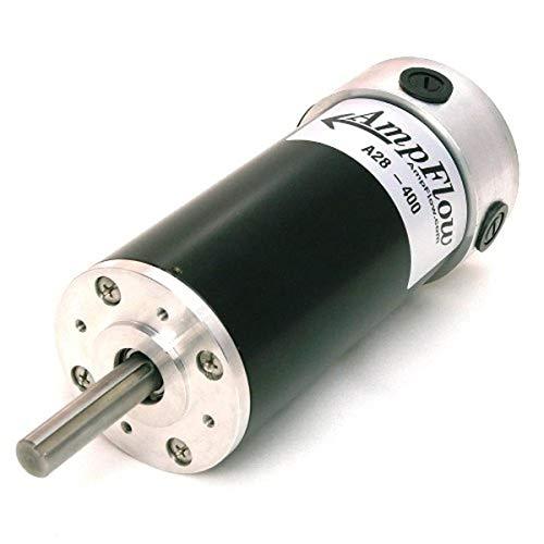 AmpFlow A28-400 Brushed Electric Motor, 12V, 24V or 36 VDC, 4900 RPM