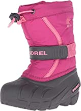 Sorel Youth Flurry-K Snow Boot, Deep Blush/Tropic Pink, 6 M US Big Kid