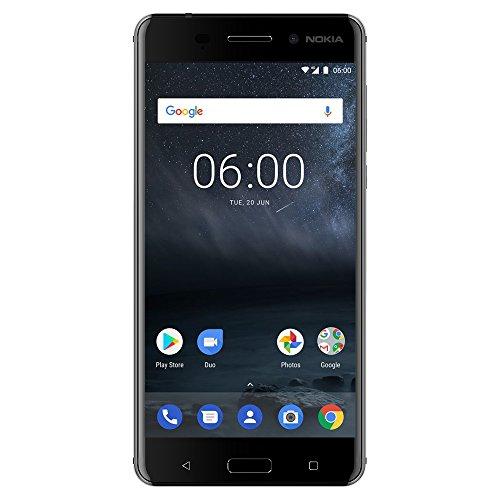 Nokia 6 - Android 9.0 Pie - 32 GB - Dual SIM Unlocked Smartphone (AT&T/T-Mobile/MetroPCS/Cricket/Mint) - 5.5' FHD Screen - Black - U.S. Warranty