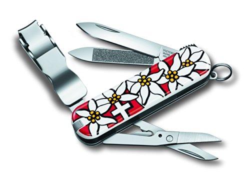 Victorinox Edelweiss NailClip 580 (8 functies, nagelknipper, nagelvijl, pincet), standaard