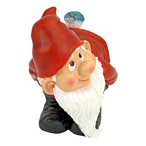 Design Toscano Loonie Moonie Bare Buttocks Garden Gnome Statue: Medium - 5