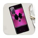 B07 Coque souple en silicone pour Samsung S20 FE S21 S10 S9 S8 S10e Note 20 Ultra 10 Plus 9 8