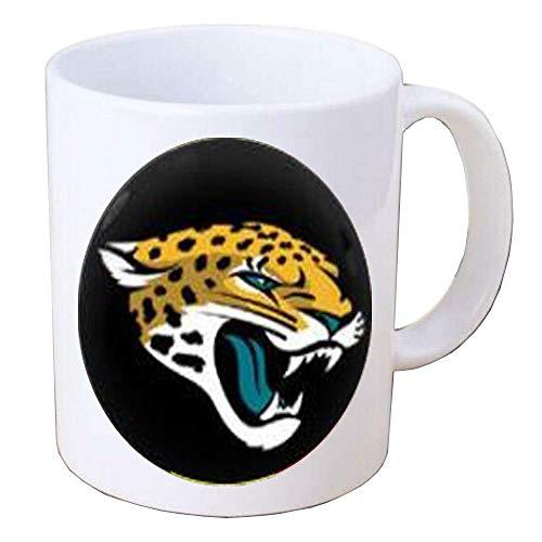 N\A Jaguars Coffee Mug Jaguars Jewelry Joyas para fanáticos de los Deportes, Joyas Hechas a Mano, 042