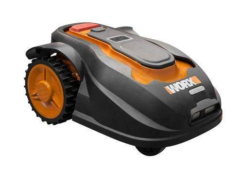 Worx WG757E - Robot da giardino Landroid, misura M, fino a 800 m2, Wifi