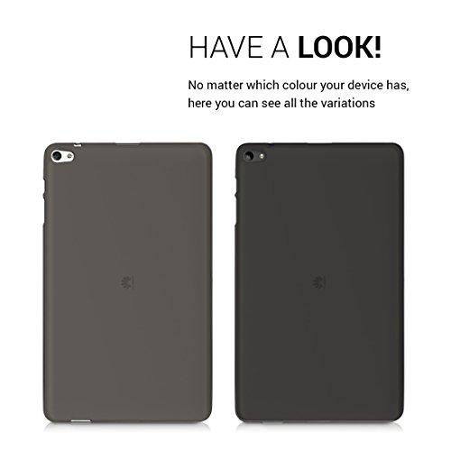 kwmobile Huawei MediaPad T2 10.0 Pro Hülle - Silikon Tablet Cover Case Schutzhülle für Huawei MediaPad T2 10.0 Pro - Schwarz Transparent - 4