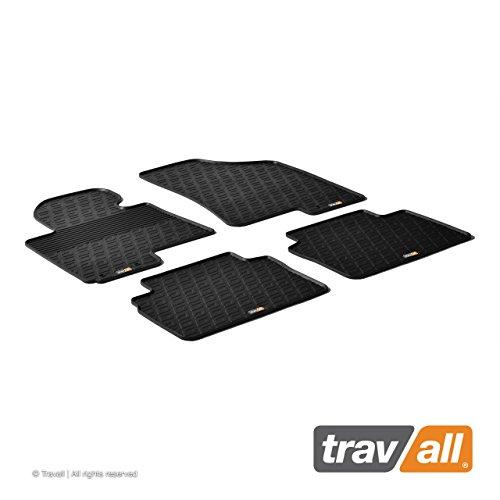 Travall Mats Tapis de Voiture Compatible avec Hyundai iX35 et Tucson (2009-2015) Kia Sportage (2010-2015) TRM1094 - Tapis de Sol en Caoutchouc sur Measure