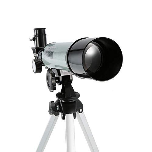 ZHCJH Outdoor HD 90X Zoom Teleskop Spektiv Brechungsraum Astronomisches Monokular Vogelbeobachtungsteleskop 360X50Mm mit Stativ